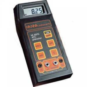 อุปกรณ์วัด pH (Portable instrument for measuring pH  mV  ° C output for recorder)
