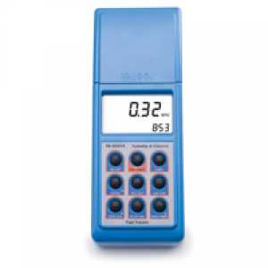 HI93414 Turbidity and Free Total Cl2 Portable Meter