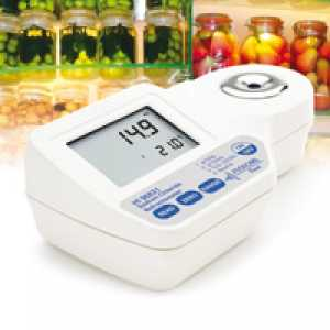 อุปกรณ์วัด Refractometer (Digital Refractometer for Sodium Chloride Measurement)