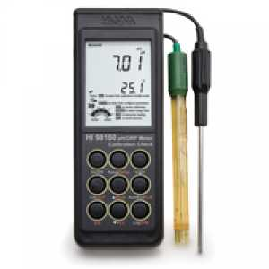 อุปกรณ์วัด pH (Portable pHORP Meter with Calibration Check™)