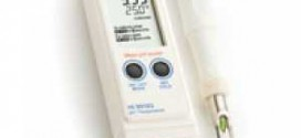 อุปกรณ์วัด pH (pH meter for direct measurement of the pH of the meat and sausages)