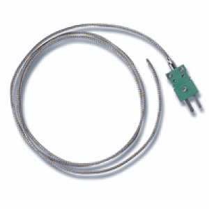 HI 766F1-5 Wire Temperature Thermocouple Probe, 5 m cable
