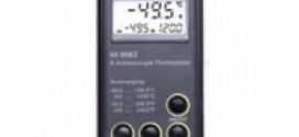 เทอร์โมมิเตอร์(HI 9063 Heavy-duty K-Type Thermocouple Thermometer)