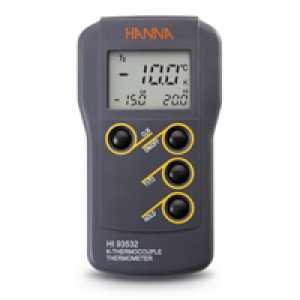 HI 93532 Dual-input, K-Type Thermocouple Thermometer