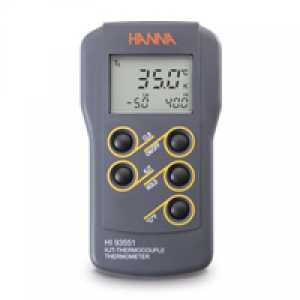 HI 93551 K, J, T-Type Thermocouple Thermometer