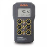 HI 93552R Dual-channel, K, J, T-Type Thermocouple Thermometer